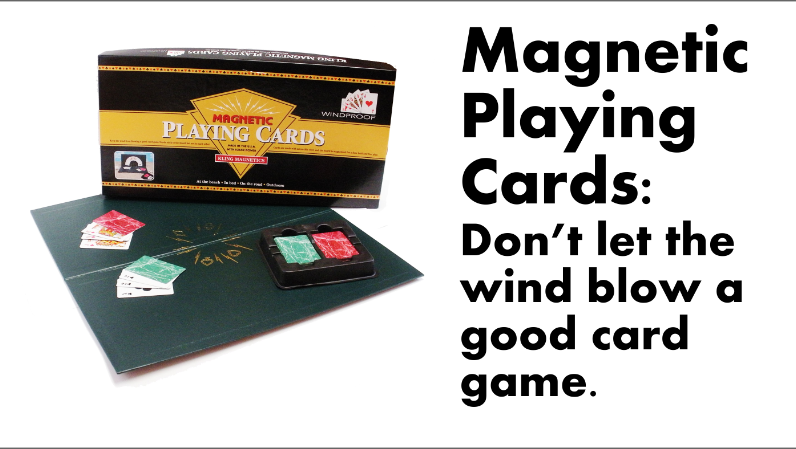 Magnetic Playing Cards